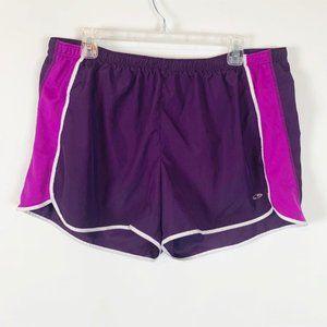 (4 for $25) Champion Ladies Purple/Pink Shorts